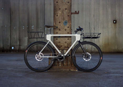 Urban Utility Bicycles - The EVO Bicycle Lets Riders Customize Their Own Clip-On Accessories