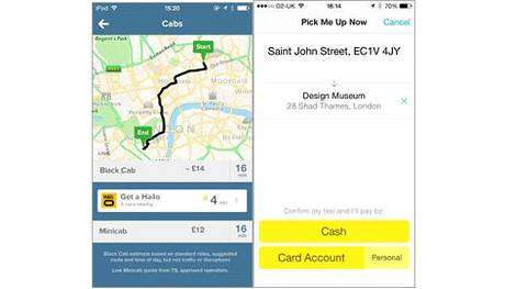 Taxi Teamwork Apps - The Hailo and Citymapper Apps are Joining Forces to Improve Taxi Services