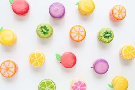 DIY Fruit Macarons - Sugar and Cloth Blogs a Delicious Art Project for Dessert Lovers