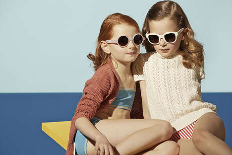 Youthful Retro Editorials - This Retro Children's Editorial Takes a Cue From David Hockney