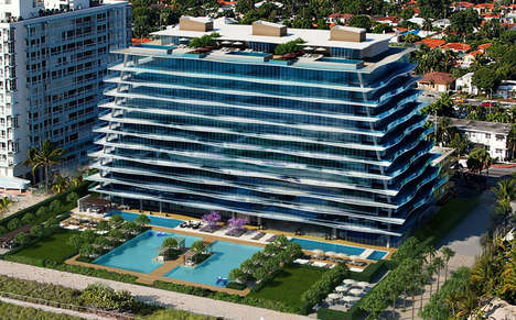 Fashion Designer Hotels - Fendi Works with the Chateau Group to Build a Getaway in Miami