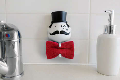 Personified Sponge Holders - Mr. Sponge by Peleg Design Jazzes up the Kitchen