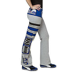 Galatic Droid Pants - These R2-D2 Yoga Pants are Great for Female Fans of the Star Wars Saga