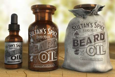 Artisan Beard Oils - This Handmade Collection Contains Essential Haircare Products for Beards