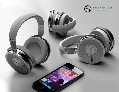 Video Recording Headphones - The Soundsight Headphones Let You Record and Stream HD Video