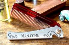 The Man Comb Will Be the Boss of Your Hair, Beard and Beer