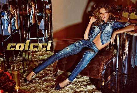 Elegantly Reflective Fashion Campaigns - The Colcci Spring/Summer 2014 Ads Feature Mirrored Surfaces