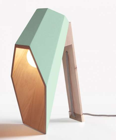 94 Innovative Table Lamp Designs - From Cardboard Carton Fixtures to Retro-Dual Purpose Lighting