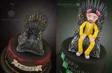 This Breaking Bad Game of Thrones Cake Design Merges Both Shows into One