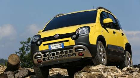 Beefy Off-Road Cars - The Fiat Panda Cross is Built to Traverse Treacherous Terrain