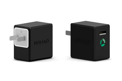 Backup Battery Chargers - The Nomad Charging Cube Doubles Up as a Second Battery Pack