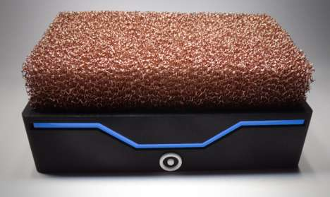 Copper-Cooled Computers - The Silent Power PC is Cooled by a Clump of Copper Filaments