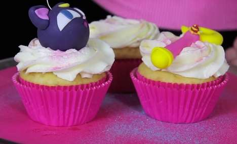 Cosmic Kitty Cupcakes - The Luna Ball Cupcakes are Nerdy and Delicious