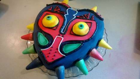 Video Game Villain Cakes - Redditor Njohns39 Has Turned the Majora Mask Into a Cake