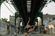 Urban Ballerina Projects - Photographer Dane Shitagi Captures Graceful Dancers in City Settings