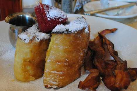 Calorie Overloaded Desserts - The Bruleed French Toast Cheesecake Factory Calories Are Excessive