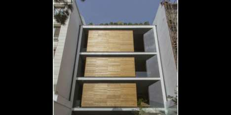 Shape-Shifting Houses - The Sharifi-Ha House Has a Trio of Rotatable Cube-Shaped Rooms