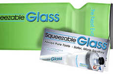 Squeezable Glass Bottles - This Squeezable Bottle Blends the Benefits of Glass and Plastic
