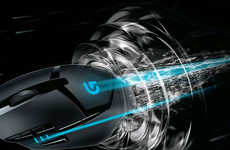Ultra-Fast Gaming Mouse - The Logitech G402 Hyperion Fury FPS Mouse Will Improve Players' Game