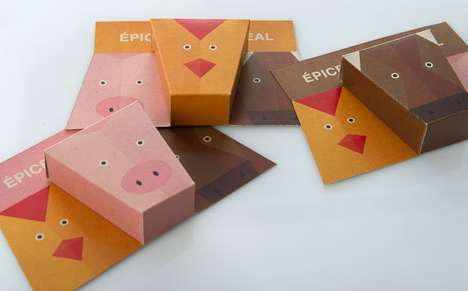 Animalistic Spice Packaging - These Spice Containers Suggest the Best Animal Meat Pairings