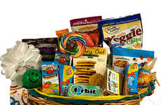 Playful Snack Baskets - Baskets by Rita's Gift Basket for Kids Balance Healthy Snacks with Toys