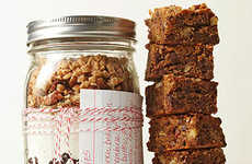 Toffee Bar Jars - These Giftable Toffee Blondies Come Pre-Measured in a Jar