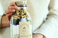 Bottled-Bread Gifts - This Quick Bread in a Bottle Giftable Food Offering is Delicious and Personal