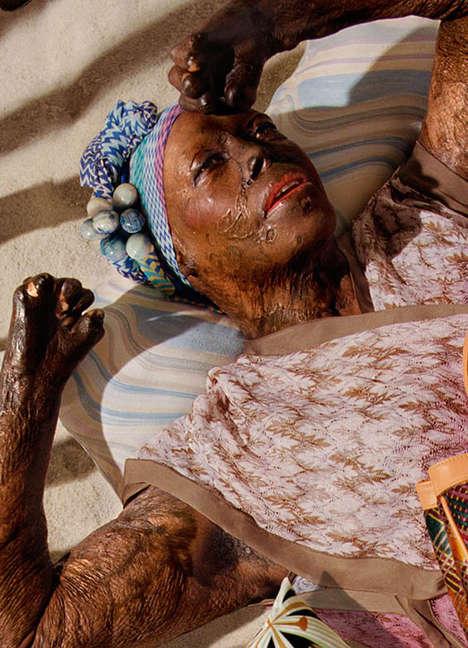 Trauma Survivor Fashion Catalogs - Tractatus 7 by Denise Prince Rethinks Ideal Beauty Standards