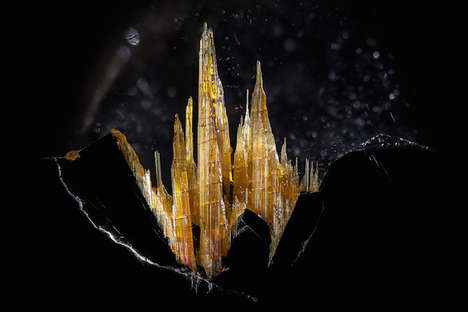 Macro Gemstone Photography - Danny Sanchez Captures Miniature Landscapes in Sparkling Minerals