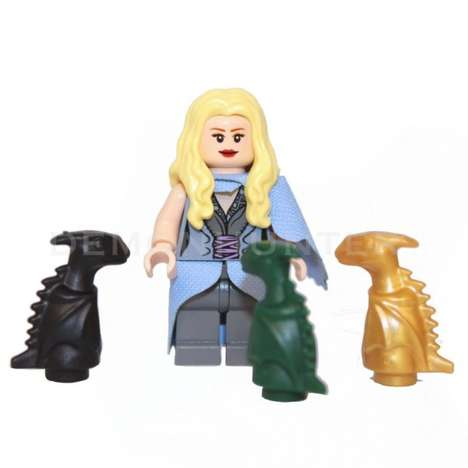 Fantasy LEGO Figurines - These Game of Thrones LEGO Characters are Great for Little Fans of the Show