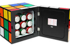 Puzzle Cube Fridges - This Fun Mini Fridge is the Most Stress-Free Rubik's Cube Ever