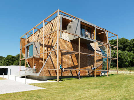 Angular Office Architecture - 'Office Off' by Heri&Salli; is a Project for an Austrian Company