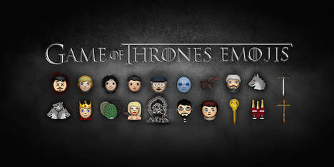Fantasy Show Emojis - Elite Daily's Game of Thrones Emoji Icons Make for More Spoiler-Filled Texts