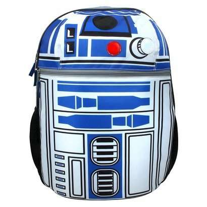 Galactic Droid Backpacks - These R2-D2 Backpacks is Perfect for Fans of the Star Wars Saga