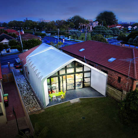 Folded Band Architecture - Enter Projects Creates the Dalmeny in Australia