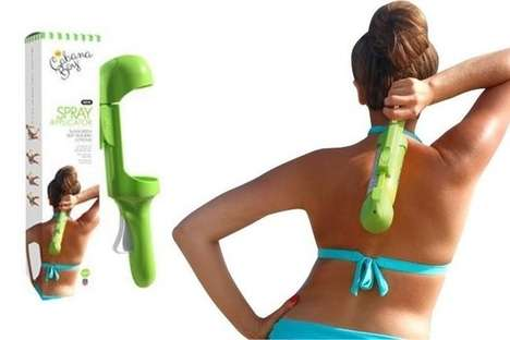 Spray Sunscreen Applicators - The Cabana Boy Gadget Helps You Apply Sunscreen on Your Back