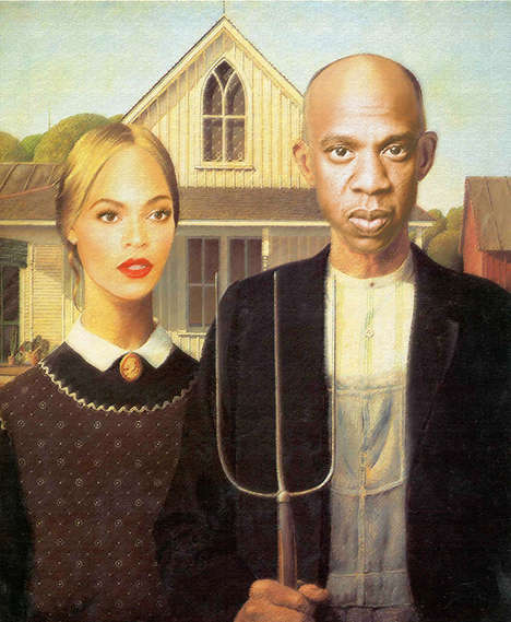 Rap Royalty Portraits (UPDATE) - The Carter Family Portrait Gallery Immortalizes the Famous Clan