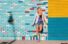 Vibrant Sock Lookbooks