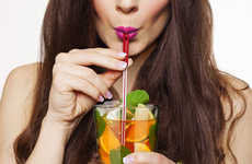 Musical Drinking Straws - The Wet My Whistle Musical Straws Makes Slurping Drinks more Entertaining