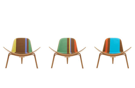 Striped Chair Collections - Carl Hansen & Søn Celebrates the 100th Birthday of Hans J. Wegner