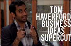 Ridiculous Entrepreneurial Supercuts - The Compilation Documents Tom Haverford's Best Business Ideas