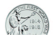 Commemorative Wartime Coins - The Outbreak Royal Mint Coin Marks WWI Being 100 Years Ago