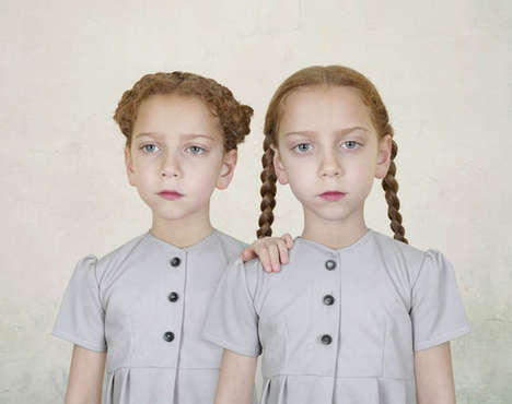 Surreal Children Portraits - Photographer Loretta Lux Makes Kids Look Like Porcelain Dolls