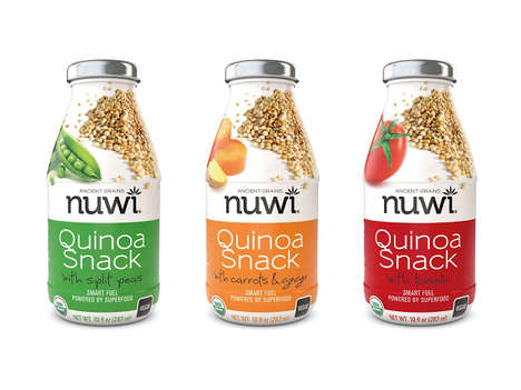 Savory Quinoa Drinks - NUWI Quinoa Snacks Take the Form of Beverages
