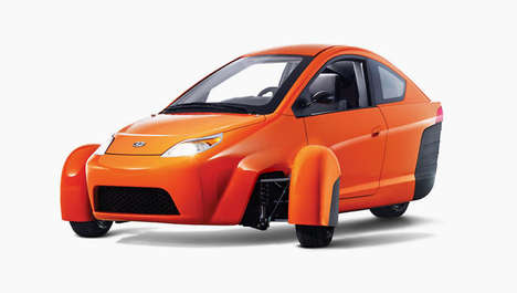 Three-Wheeled Cars - The Elio by Paul Elio is a Strange Fuel-Efficient Vehicle