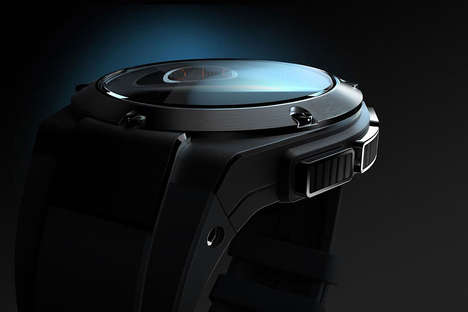 Auto-Inspired Smartwatches - The New Hewlett Packard Smartwatch Looks Impressively Stylish