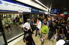 Gratuitous Subway Rides - Singapore's Subway System Offers Free Rides to Reduce Rush Hour Traffic