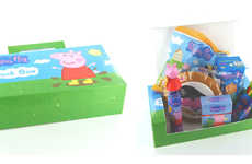 Cartoony Snack Boxes - Appy Food & Drinks' Food Boxes for Kids Are Filled with Treats & Activities