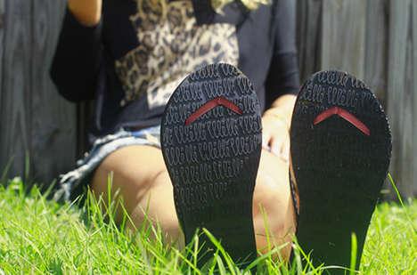 Flip Flop Fixes - Willi Footwear Offers a Boomerang Solution For an Unfortunate Flip Flop Blow-OUt