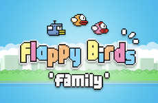 Multiplayer Avian Apps - Dong Nguyen's Flappy Bird App is Back as a Multi-Player Flappy Bird Family